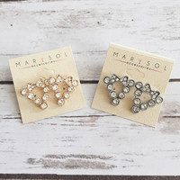 Dainty Bow Earrings