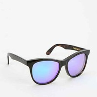 Wildfox Couture Deluxe Cat-Farer Mirrored Sunglasses- Brown One