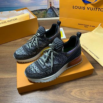 LV Louis Vuitton Men's And Women's Flyknit V.N.R. Sneakers Shoes