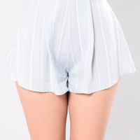 Sea Side Short - Blue