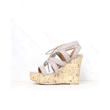 Final Sale - Aden Platform Wedge Sandal (Women) - More Colors