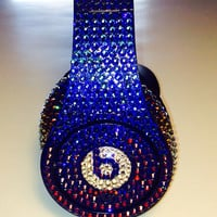 Studio Beats by Dre Headphones made with Swarovski Crystals Number 1 Seller
