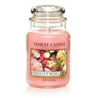 Fresh Cut Roses : Large Jar Candles : Yankee Candle