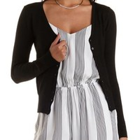 Basic Button-Up Cardigan Sweater by Charlotte Russe