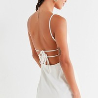 UO Bodycon Tie-Back Mini Dress | Urban Outfitters