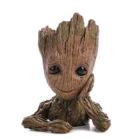 Guardians of The Galaxy Baby Groot Flowerpot Baby Action Figures Cute Model Toy Pen Pot Best Christmas Gifts For Kids Home Decoration