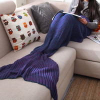 Mermaid Sofa Blanket