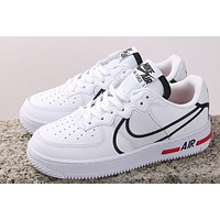 Nike Air Force 1'07 react D / MS / x Black and white