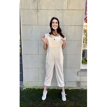 Brushed Organic Relaxed Overalls (options)