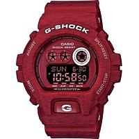 Casio G-Shock Heathered Series - Red - 200 Meter Water Resistance