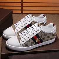 GUCCI Fashion Women Casual Shoes Sneaker