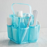 Mainstays Mesh Shower Tote, Teal - Walmart.com