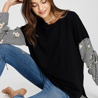 Daisy Sleeves Top