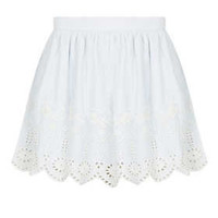 Petite Cutout Lace Skater Skirt - New In This Week  - New In