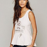 We The Free   Pep Talk Graphic Tank at Free People Clothing Boutique