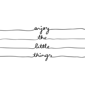 Little Things Art Print by Mareike Böhmer Graphics