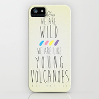Fall Out Boy - 'Young Volcanoes' iPhone & iPod Case by Stelle