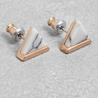 & Other Stories | Stone Studs | Gold