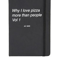 Why I Love Pizza Journal - New In This Week - New In
