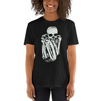 Comfy Skeleton Short-Sleeve Unisex T-Shirt