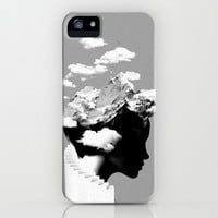 It's a cloudy day iPhone & iPod Case by Robert Farkas
