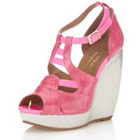 Cocktail Pink Wedge - View All - Shoes - Miss Selfridge US