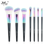 Anmor High Quality 7 pcs/set Makeup Brushes Set Professional Make Up Brush Tools Colors Available CF-734