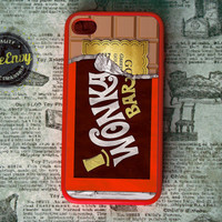 Willy Wonka Golden Ticket Inspired iPhone 4 / 4s case