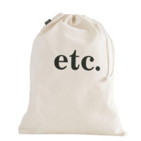 Etc. Drawstring Bag