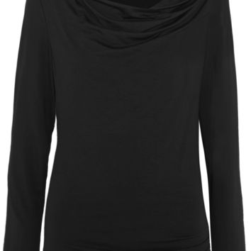 Donna Karan New York - Draped stretch-jersey top