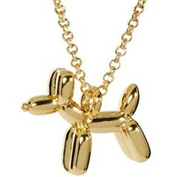 Ted Baker Balloon Dog Pendant Necklace at asos.com