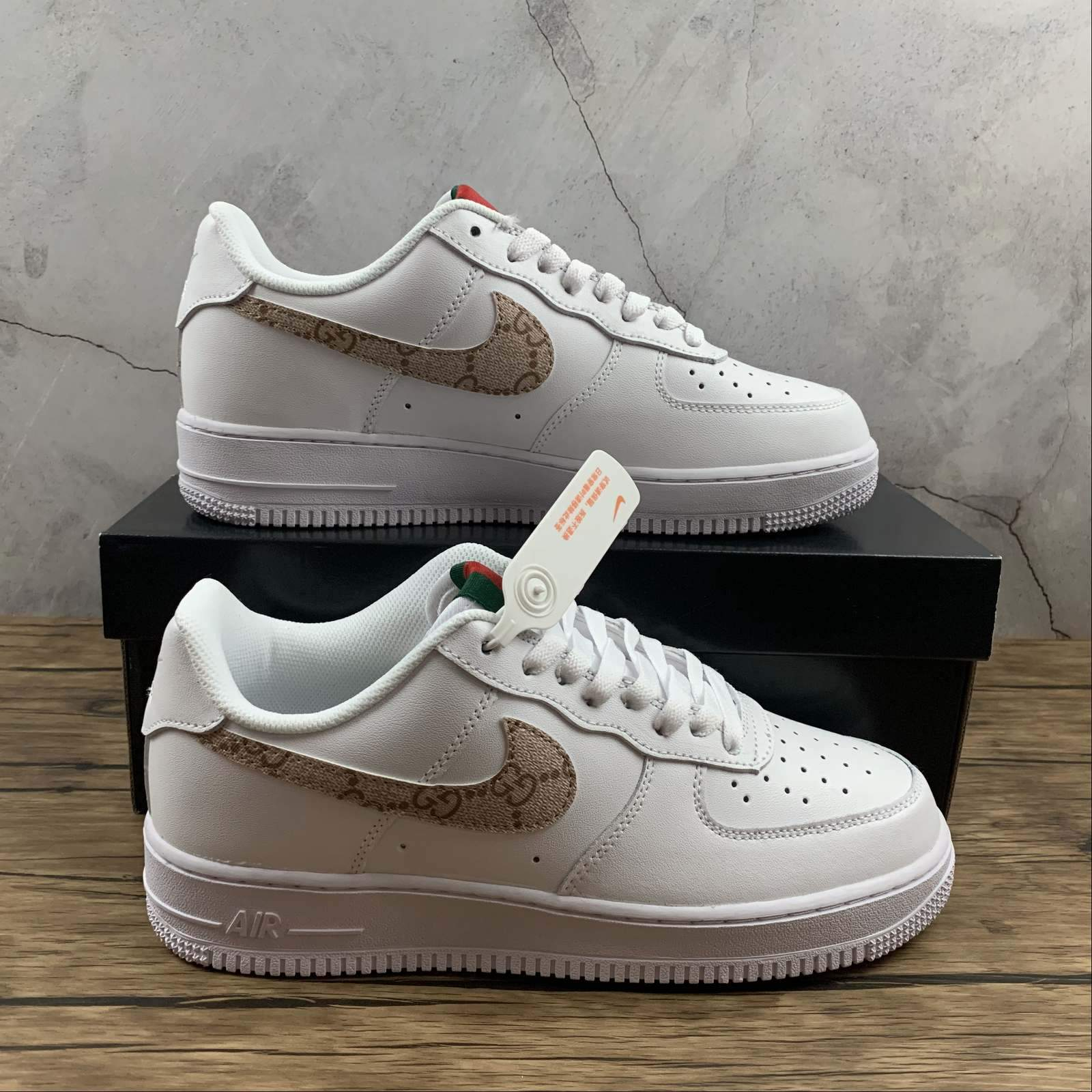 Image of Morechoice Tuhz Nike Air Force 1 07 Lx Low Sneakers GG Casual Skaet Shoes Ar7720-101