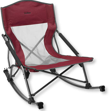 Low Rider Camp Rocker: Chairs   Free Shipping at L.L.Bean
