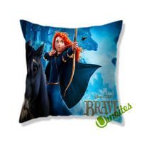 Brave Square Pillow Cover