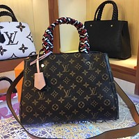 LV Louis Vuitton WOMEN'S MONOGRAM CANVAS Montaigne BB HANDBAG SHOULDER BAG