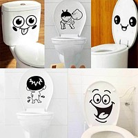 Bathroom Wall Stickers Toilet