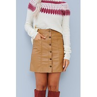 Adoring You Skirt (Camel)