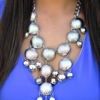 The Silver Crew Necklace | Hope's