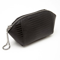 FOREVER 21 Embossed Zippered Clutch