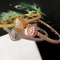 Designer Fashion Copper Jewelry 3A Cubic Zirconia Party Bangle