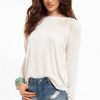 Lean On Me Long Sleeve Top $33