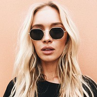 Mia Hexagon Sunglasses