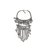 Stylish and elegant coins necklace