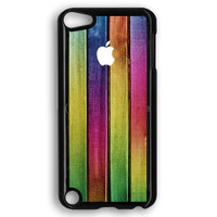 Colorful Wood Background iPod Touch 5 Case