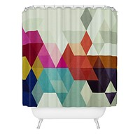 Three Of The Possessed Modele 7 Shower Curtain