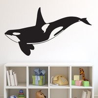 Vinyl Wall Decal Sticker Killer Whale Orca #648
