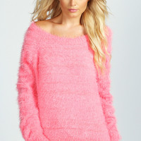 Lizzy Soft Touch Hairy Knit Jumper