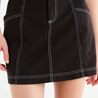 BDG Contrast Stitch Mini Skirt | Urban Outfitters