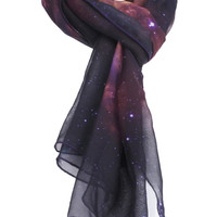 ROMWE | Galaxy Print Scarf(Arrival on Sept.25th), The Latest Street Fashion