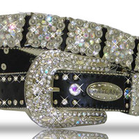 Square Concho Bling Western Belt